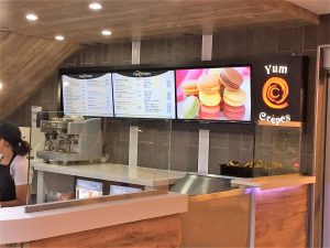 Digital Signs & Message Centers custom digital menu boards 1 300x225