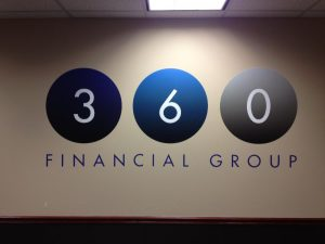 Wall Graphics lobby sign 1 300x225